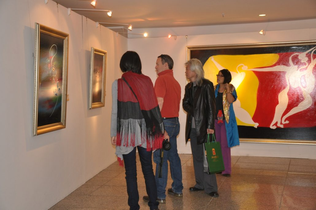 At World Art Museum, Beijing, 2011