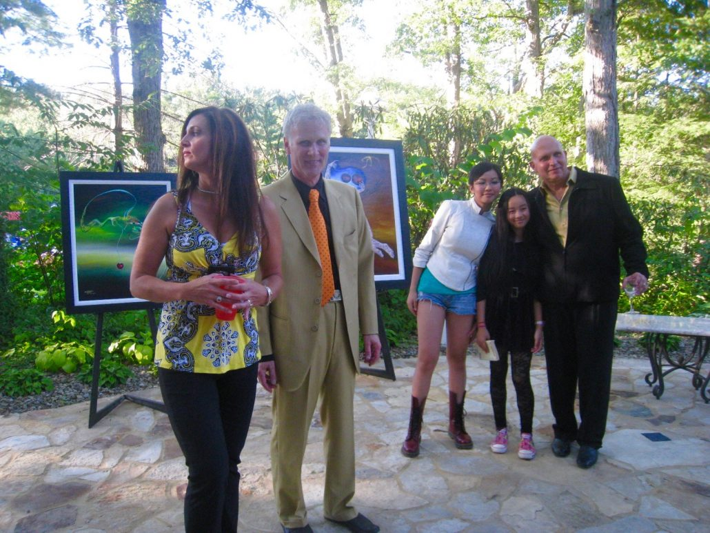 Fundraising for the Avamar Foundation, Ohio, 2010, with collector Mr. Matt Blair