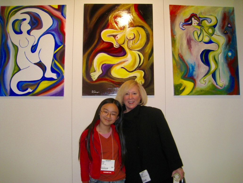 Zoe Yin with Ms. Debbie kuhn New York 2010